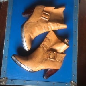 Desert Disco Leather Boots